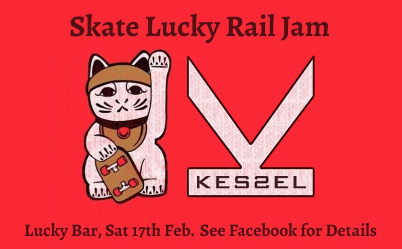 Skate Lucky Rail Jam